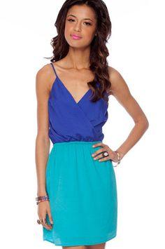 Tobi Two Cute Dress in Royal Blue