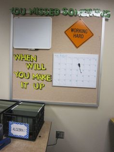 Great classroom org.