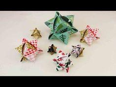DIY Würfelsterne basteln | Tolle Sterne aus Fröbelstern-Papier | Origami…