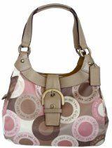 Coach Handbags  Coach Soho Snap Head Print Sateen Lynne Hobo Bag  From Coach