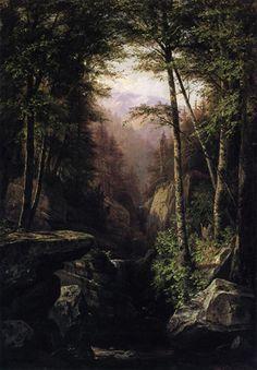 Rocky Gorge by George Hetzel