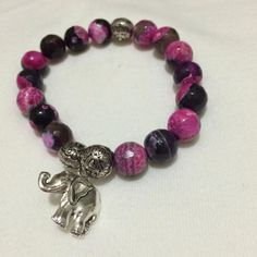 Elephant Love Bracelet by InspiredMala on Etsy