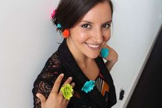 DIY Duct Tape Jewelry tutorial.  Great for teens!.The Brit & Co. jewelry project was designed for those looking for a stylish way to re-vamp on a budget.