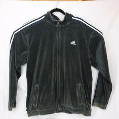 bd366a70a4ae36 Men Adidas Originals Velour Track Jacket Black XXL  fashion  clothing  shoes   accessories