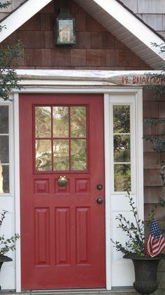 kelly moore red front door - Google Search & 9 Daring Colors for Your Front Door   Open the Door...Raise the ...