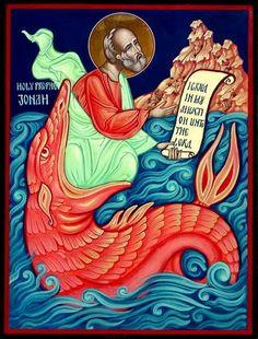 Holy Prophet Jonah / Sveti Prorok Jona / Свети Пророк Јона - by Angel Angelov from Vratsa Bulgaria