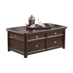 accent tables - gately lift-top coffee table | ashley furniture
