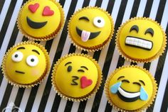 These Emoji Cupcake Toppers Will Make You