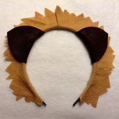 1 quantity headband lion ears custom colors birthday por Partyears