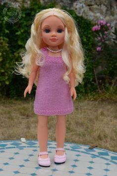 Nancy Doll, Doll Patterns, Cassie, Free Knitting, I Dress, American Girl, Doll Clothes, Harajuku, Flower Girl Dresses