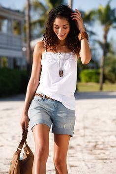 #denim #shorts #bonprix