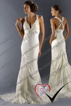 [ July Zang ] Free shipping Best selling 100% Guarantee 2013 Plus Size mermaid train Wedding Dresses Factory  manufacture on AliExpress.com. 30% off $125.30