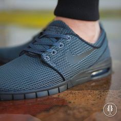 "Nike Stefan Janoski Max"" All Black 