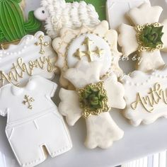 54 Ideas Baby Boy Baptism Decorations For 2019 Baby Boy Baptism Outfit, Baby Baptism, Baptism Gifts, Christening, Boy Baptism Party, Baptism Reception, Boy Baptism Centerpieces, Baptism Party Decorations, Baby Shower Decorations