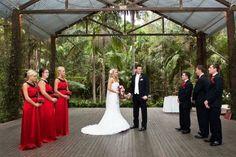 Rainforest Wedding Ceremony
