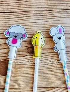 Embroidery Files, Machine Embroidery, Embroidery Designs, Design Files, My Design, Pencil Toppers, Following Directions, Easter Baskets, Lamb