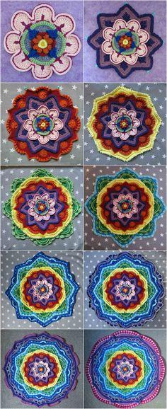 Crochet Mandala Madn