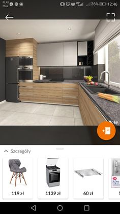 p/kuchn-ia - The world's most private search engine Modern Kitchen Cabinet Design, Kitchen Design Small, House Design Kitchen, Modern Kitchen Interiors, Home Decor Kitchen, Kitchen Room Design, Kitchen Interior, Kitchen Furniture Design, Modern Kitchen Design