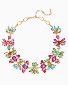 charming charlie | Festive Floras Necklace | UPC: 410007172349 #charmingcharlie