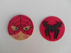 Ideas Para Fiestas, Baby Art, Punch Art, Art For Kids, Spiderman, Ornaments, Christmas, Diy, Crafts