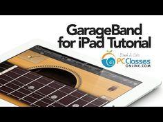 GarageBand for iPad Tutorial - YouTube