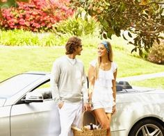Caucasian couple going on picnic Sugar Daddy Dating, Millionaire Dating, Finding True Love, Single Men, Beautiful Couple, Happy Life, At Least, Marriage, Relationship
