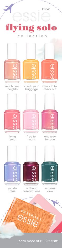 Check out the latest essie nail obsessions, from nail polish collections to nail care products. Discover our new nail polishes, nail colors & nail lacquers. Plum Nail Polish, Plum Nails, Nail Polish Dupes, Nail Polish Colors, Nail Polishes, Pastel Pink Nails, Cute Nail Colors, Beautiful Nail Polish, Colorful Nail Art