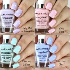 Colores de Carol: Wet n Wild Spring into the Wild