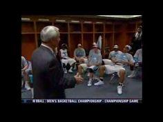 Roy Williams' 2009 National Championship Postgame Speech to the North Carolina Tar Heels