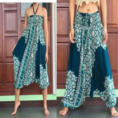 womens khakie best harem cargo girl pants summer trousers converted to Jumpsuit #Cargo #Harem #Summer