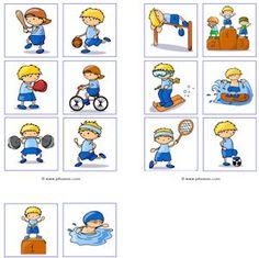 Juf Sanne: sport memory