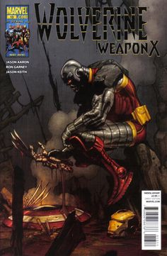 WOLVERINE WEAPON X #4 DAVID FINCH 70TH MARVEL COMICS 2009 FRAME VARIANT COVER