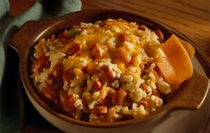 rice and beans and cheese looks super easy