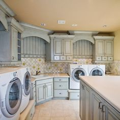 Laundry Room Ideas....this is my dream laundry room! wow