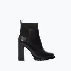 Image 1 of TRACK SOLE HIGH HEEL  BOOTIE from Zara