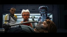 Ahsoka, Aayla, and Anakin<<-How dare you forget Bly.// Oh my gosh, I can't believe they could forget Bly!