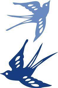 Silhouette Design Store - browse-my-designs Bird Silhouette, Silhouette Portrait, Silhouette Cameo Projects, Silhouette Design, Kirigami, Stencils, Bird Stencil, Silhouette Online Store, Stencil Patterns