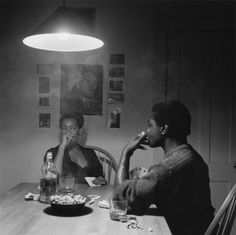 Image from the Kitchen Table series Carrie Mae Weems, in the collection at the Asheville Art Museum www.cullowheemountainarts.org