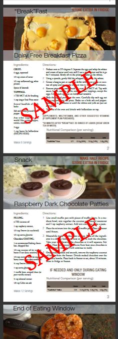 This package is extra special because you get access to the tastiest unseen recipes that are not published anywhere. The recipes are perfect ratios for keto and are also gluten (and all grains), sugar, soy, dairy and nut-flour free.