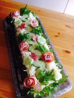 Voileipäkakku Cobb Salad, Food, Essen, Meals, Yemek, Eten