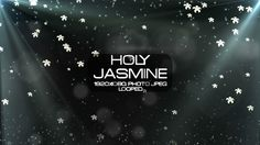 Holy Jasmine Video Animation | Full HD 1920×1080 | Looped | Photo JPEG | Can use for VJ, club, music perfomance, party, concert, presentation | #bokeh #concert #dance #dramatic #falling #flower #holy #jamine #light #music #nature #opticalflare #particle #vj #white
