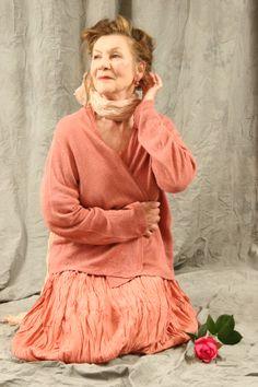 silk dress hand dyed in hamburg