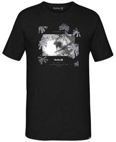 Hurley Men's Daze Graphic T-Shirt - Black Korean Fashion Men, Mens Fashion, Cocktail Attire, Latest T Shirt, Hurley, Tshirts Online, Cool T Shirts, Mens Tops, Vest Men