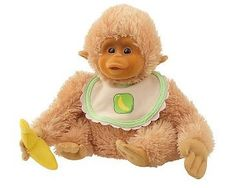 """""""So soft, cute and cuddly.  $47.50""""    Seriously?! 47.50 for a stuffed monkey?!?!?"""
