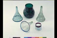 assorted glassware (Historiska museet, Sweden)