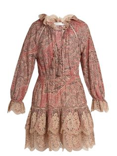 Zimmermann Tulsi paisley-print cotton and silk-blend dress