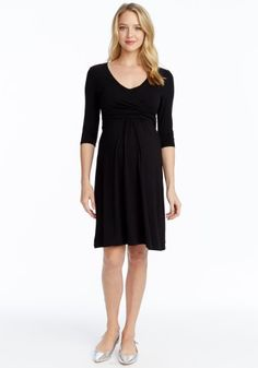 Nursing Wrap Dress - Available in 3 Colors