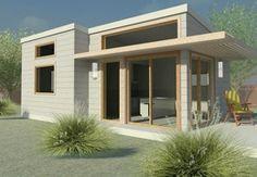 New Avenue : Floor Plans : Eco House - Palo Alto Exhibit