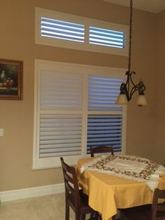 Do you do custom window treatments for specialty shapes? Absolutely! No window is too large or too small for our manufacturers. Regency Shutter & Shade can supply virtually any shape or size that best fits your home.