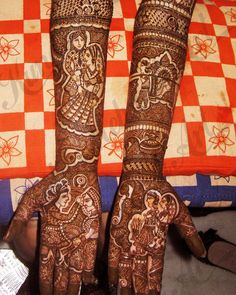 Mehendi Designs - Bridal Full Hand Mehendi Designs with Gujarat Inspired Design | WedMeGood #mehendi #wedmegood